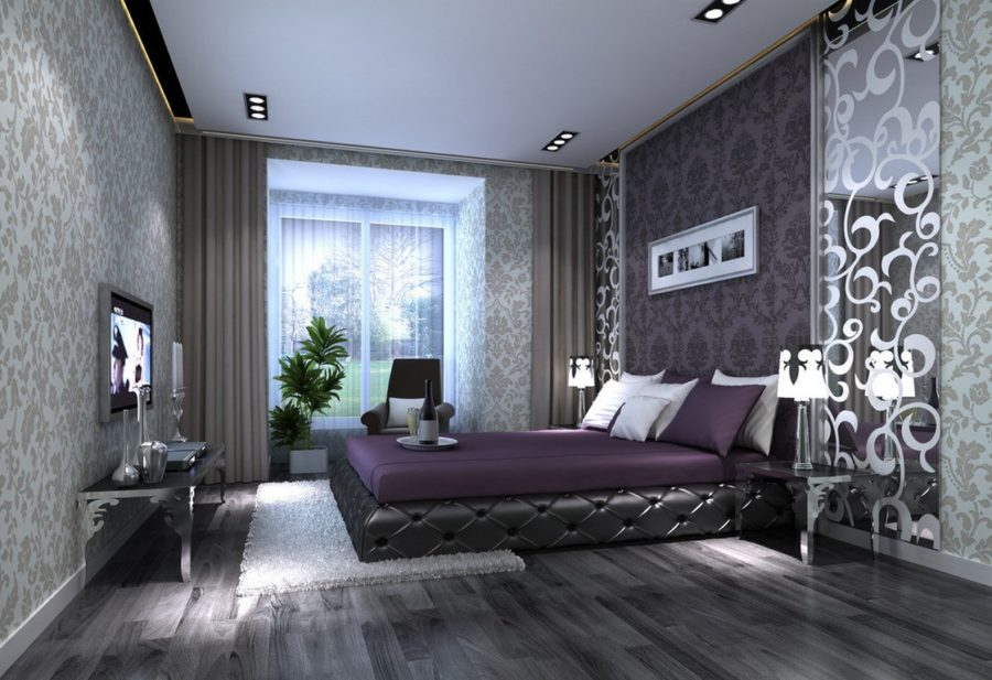 40 gray bedrooms you 39 ll be dreaming about tonight for Passionate bedroom designs