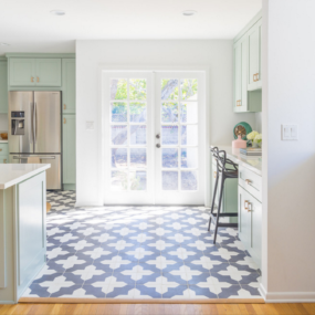 Blue Floors 285x285 Blue Paint Colors to Use in Your Kitchen for a Chic Upgrade
