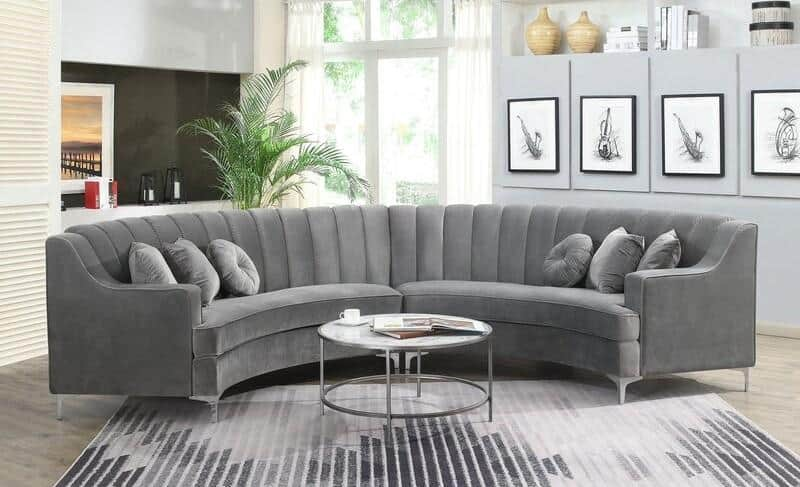 Classic Curved Sectional