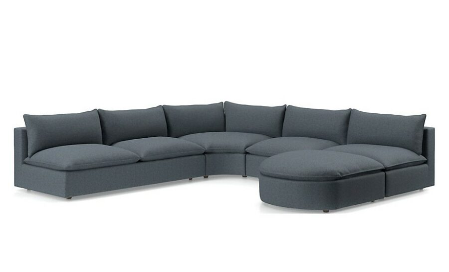 Curved Sectional Couch