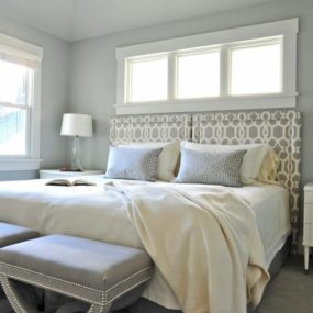 Gray Bedroom Walls Photo Lady Have Gray Bedroom 285x285 40 Gray Bedrooms Youll Be Dreaming About Tonight