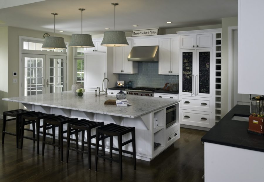 Cute View in gallery Here us a kitchen island