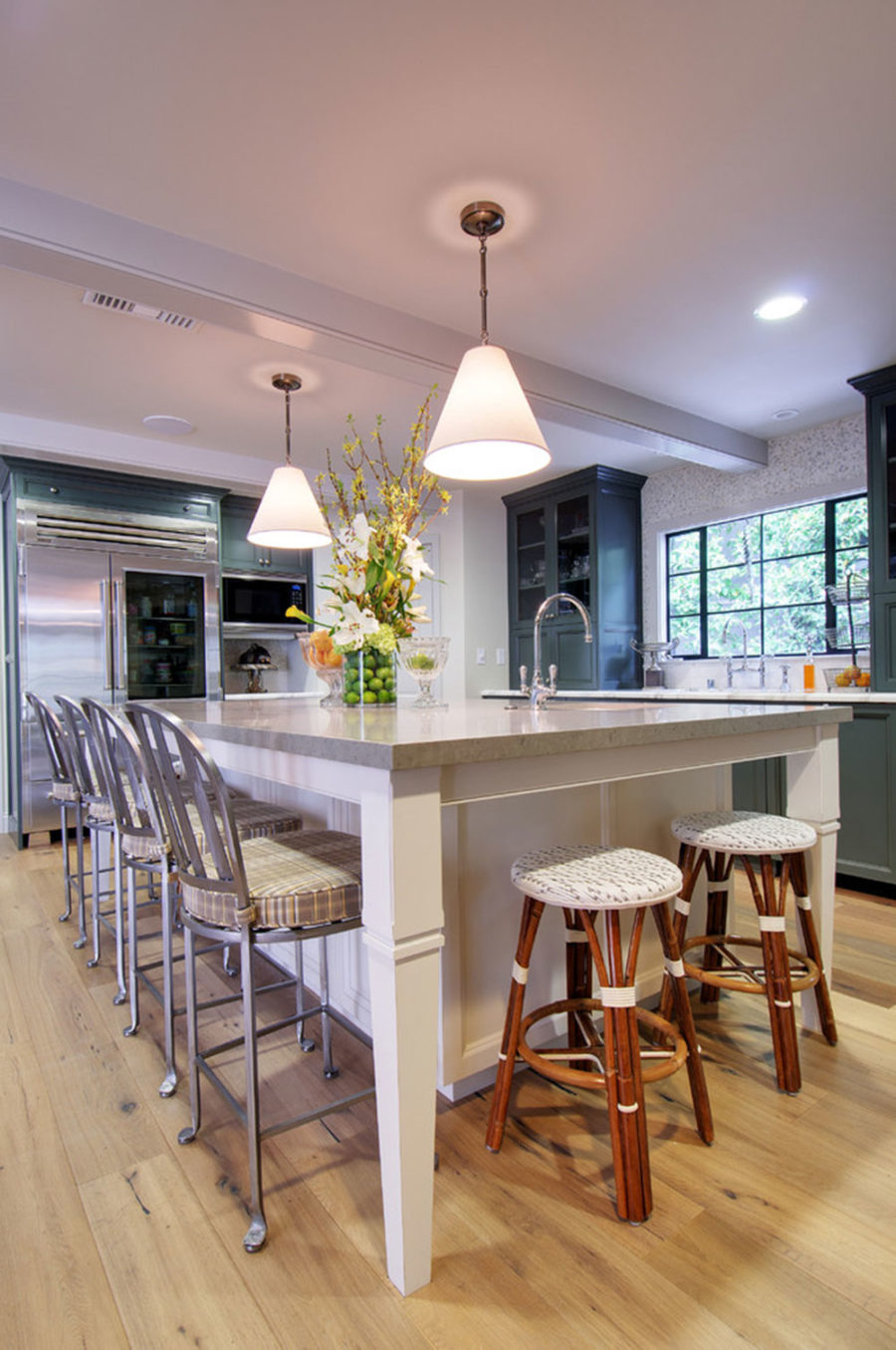 Simple Kitchen Island With Seating