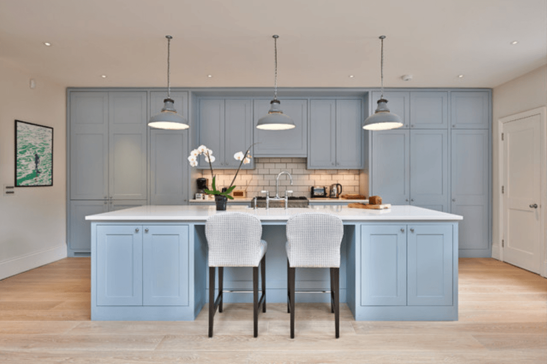 kitchen colors blue blue paint colors to use in your kitchen for a chic upgrade 3388