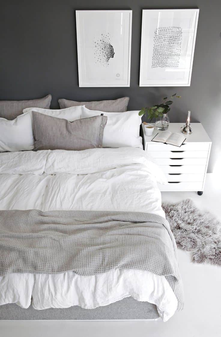 40 Gray Bedrooms You'll Be Dreaming About Tonight