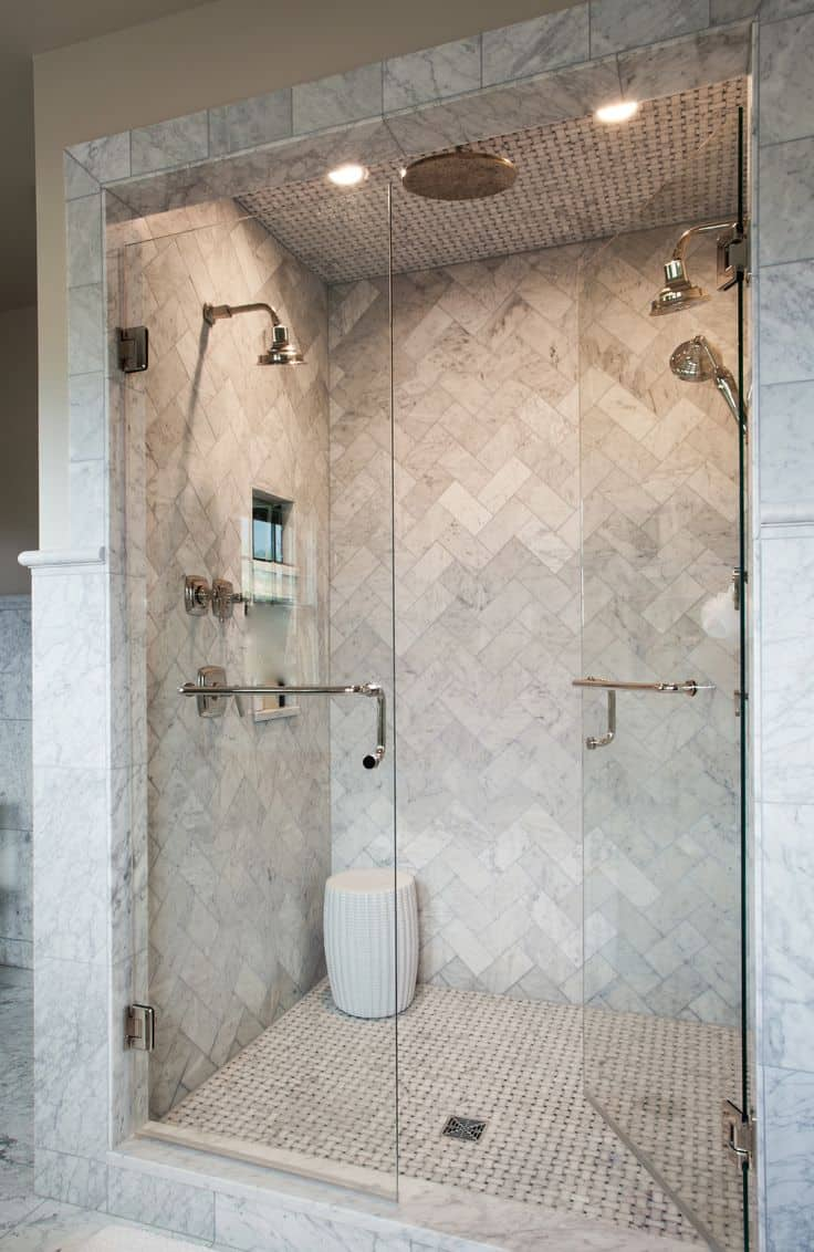 view in gallery - Luxury Tile Showers