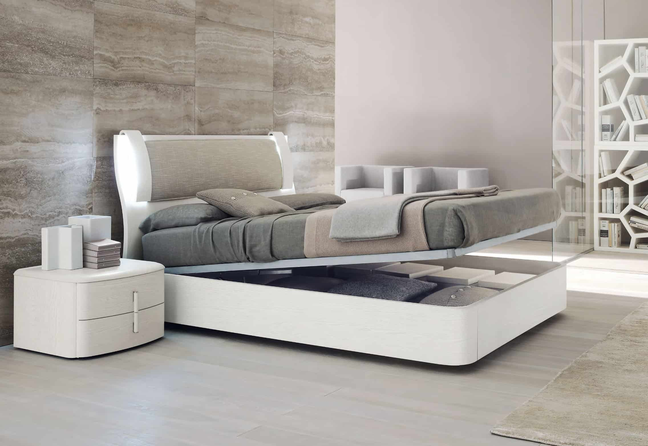 contemporary bedroom furniture with storage