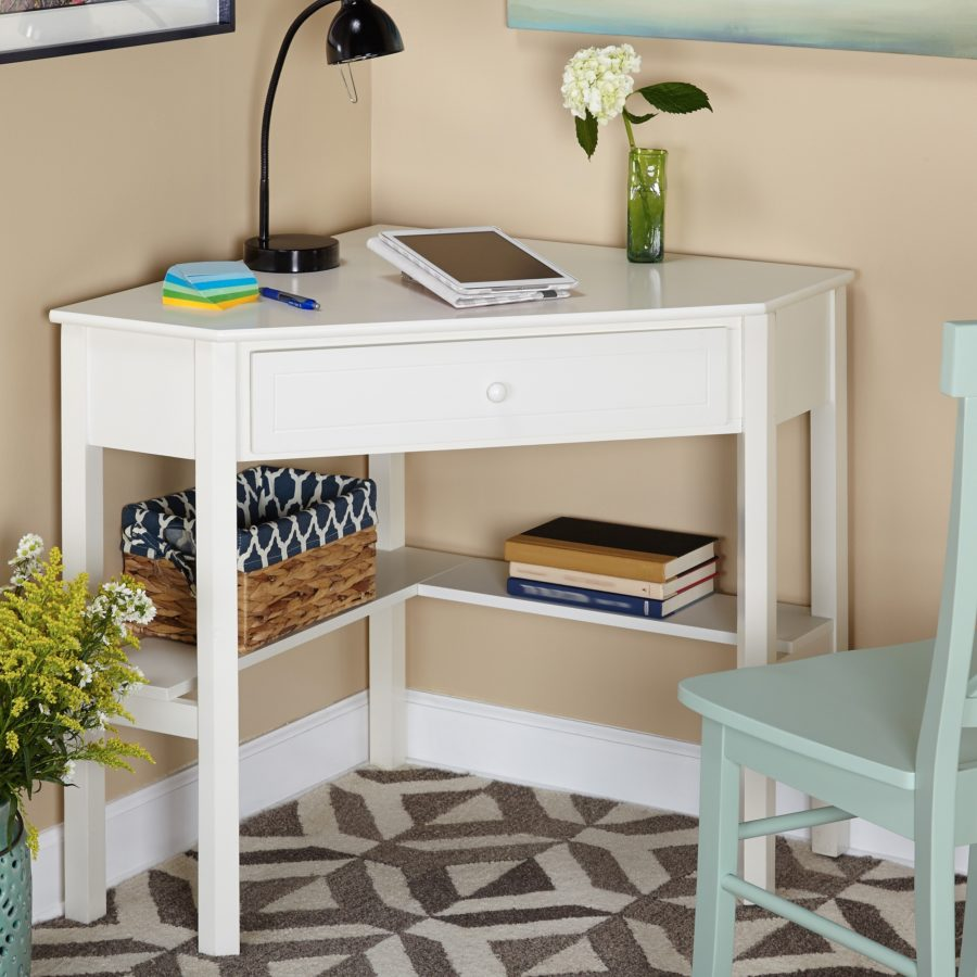 Spectacular View in gallery Overstock has this simple corner desk