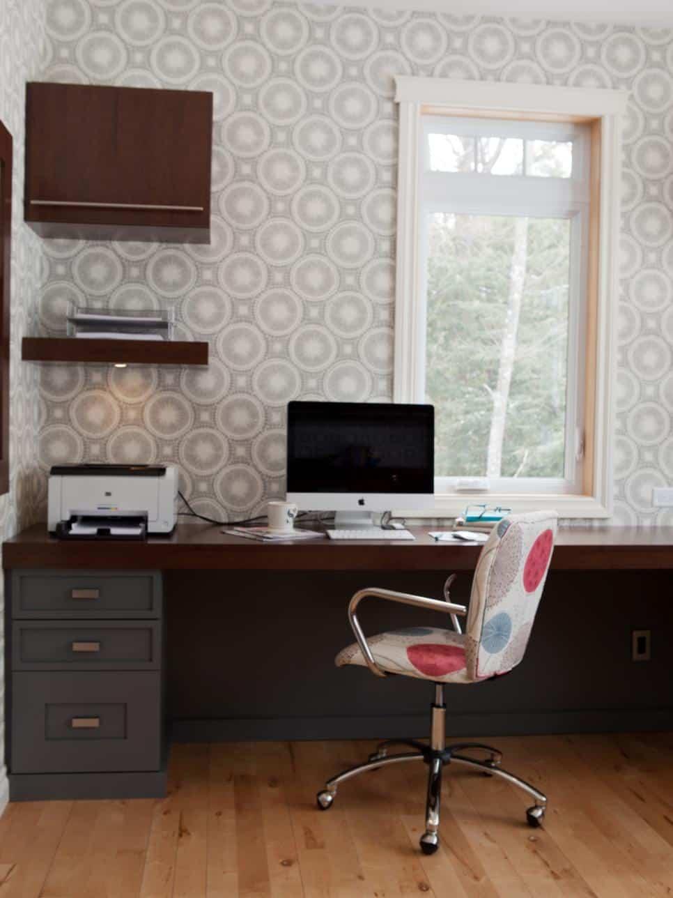 gray-mid-century-modern-home-office
