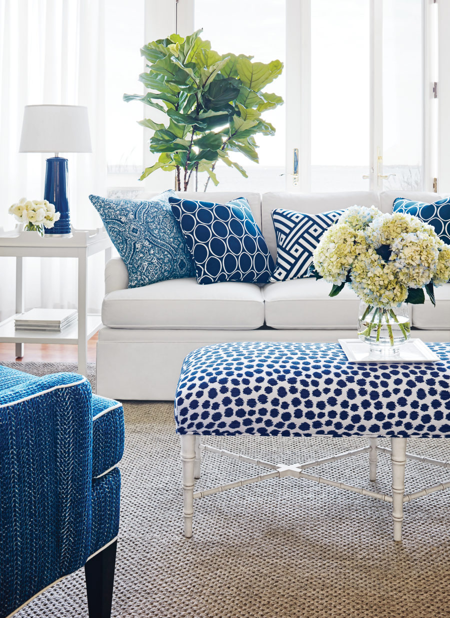 mix and match colorful pattern pillows 900x1234 Simple Ways to Incoporate Pattern into Your Home