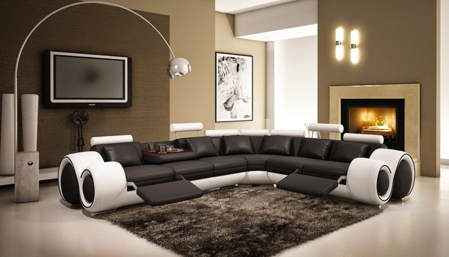 modern curved sectional sofa 900x515 These 20 Curved Sectional Couches Are Perfect For Big Families