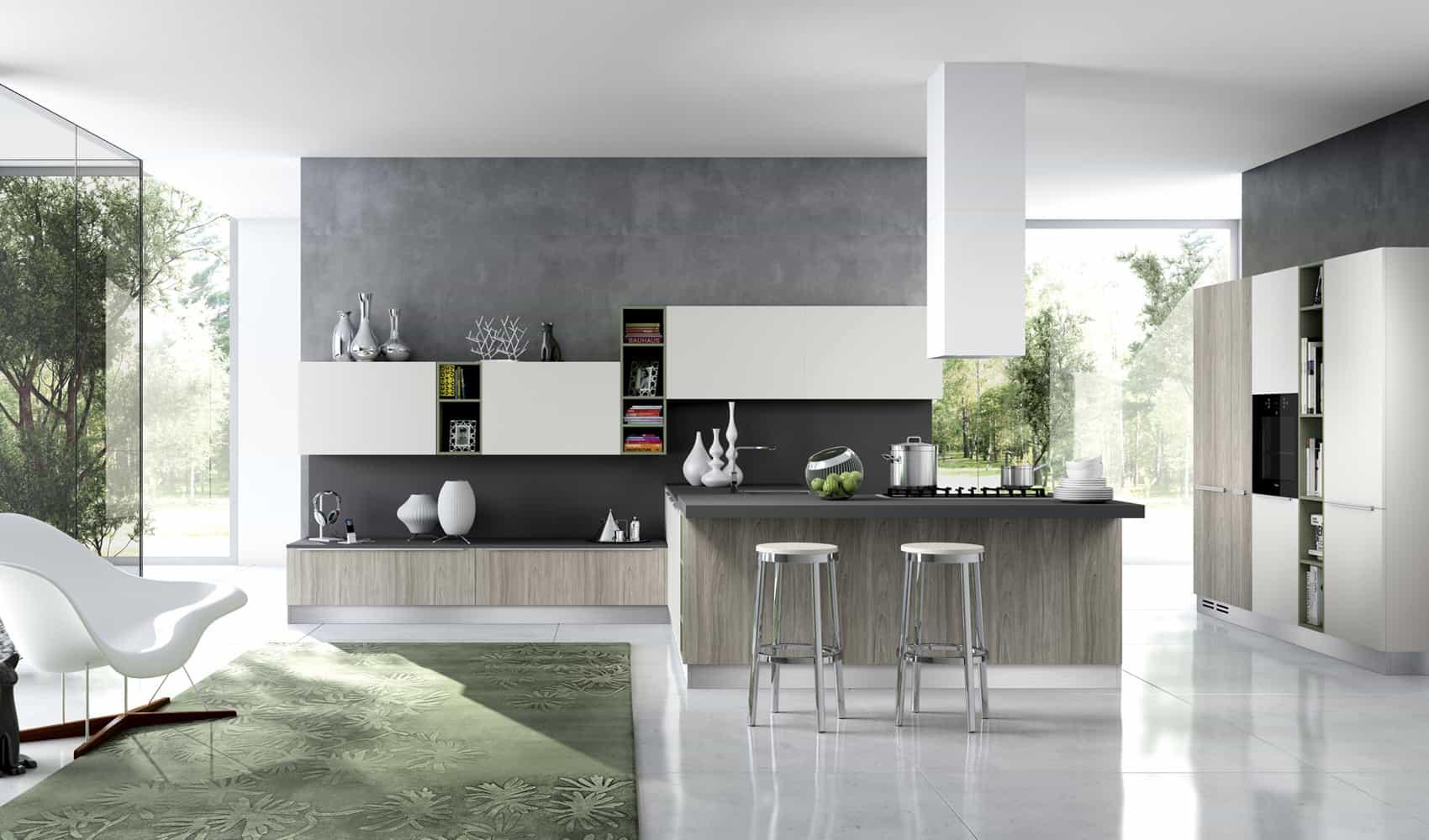 modern kitchen seating