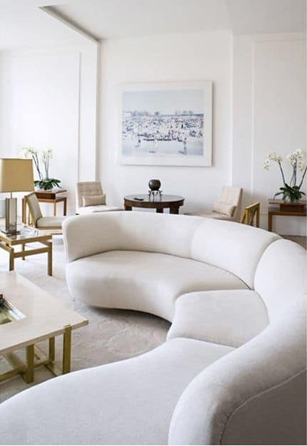 These 20 Curved Sectional Couches Are Perfect For Big Families