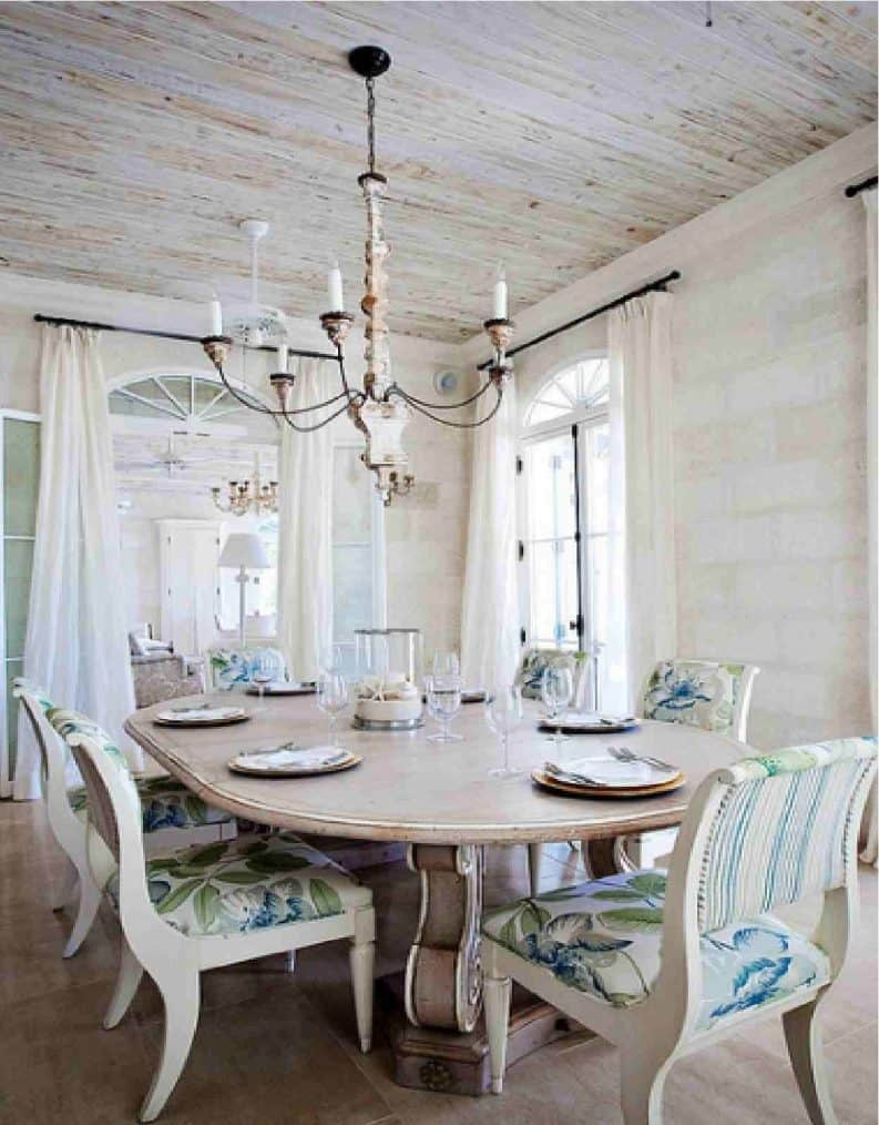 old-farmhouse-dining-room-lighting-unique-brass-clear-glass-sconce-durable-powder-coated-frame-rattan-weave-with-walnut-brown-finish-sleek-white-dining-table-sturdy-natural-wooden-dining-table-793×1014