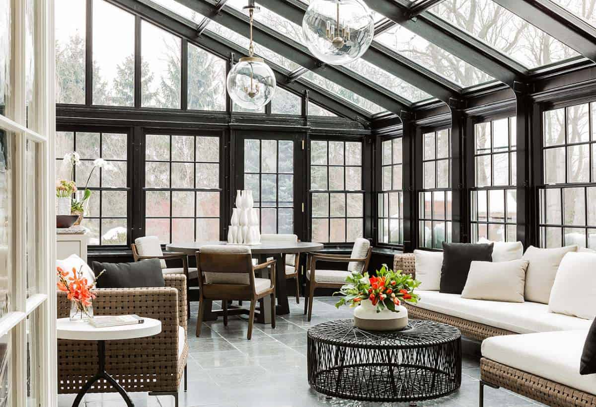Trendir & 20 Pieces of Modern Sunroom Furniture That\u0027ll Add Personality to the ...