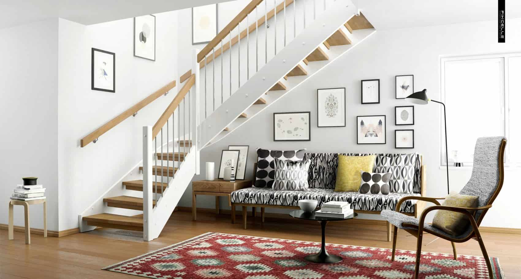 under-the-stairs-scandinavian-decor