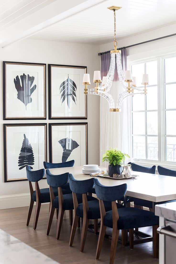 Pictures Gallery Of Wall Decor For Dining Room