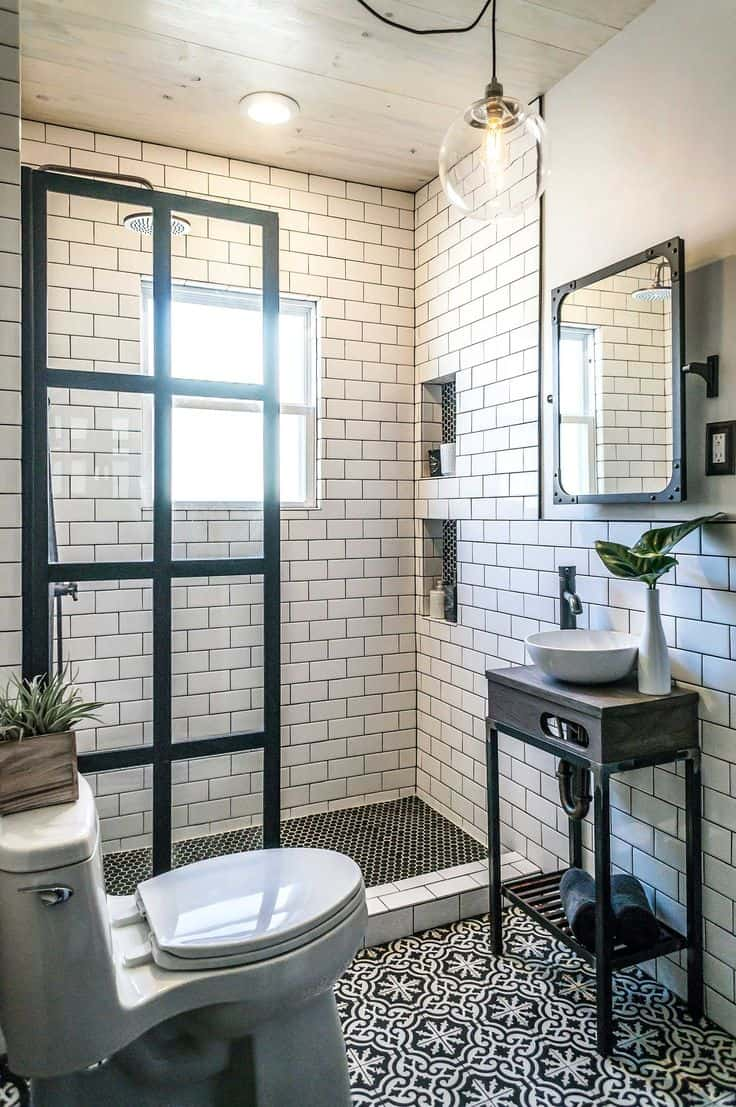 Pictures Gallery Of Bathroom Ideas With Subway Tile