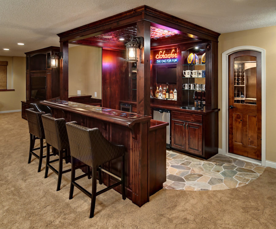 These 15 Basement Bar Ideas Are Perfect For The Man Cave