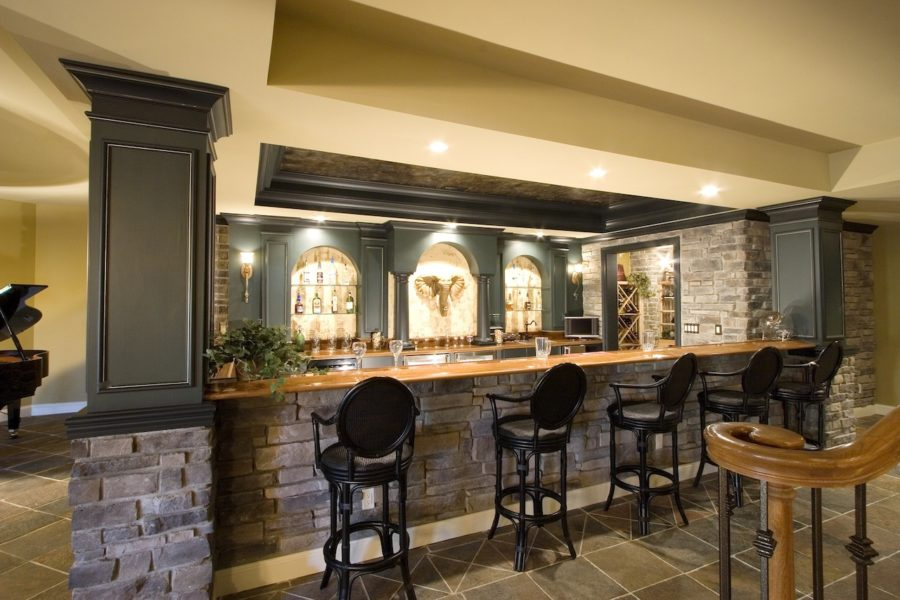 These 48 Basement Bar Ideas Are Perfect For The Man Cave Simple Basement Bars Designs