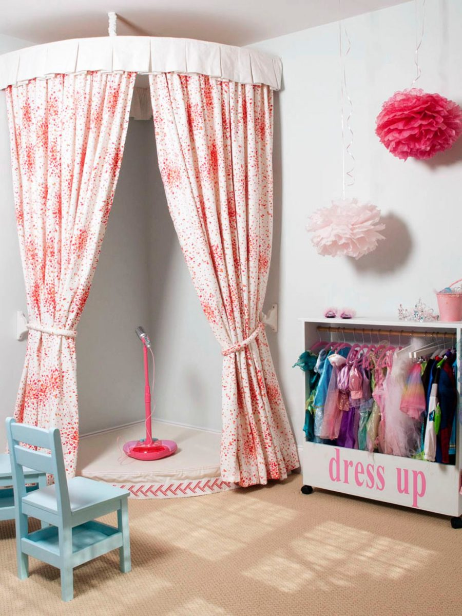 Dress up Corner 900x1200 Kids Playroom: How to Create a Space Thats Fun yet Functional