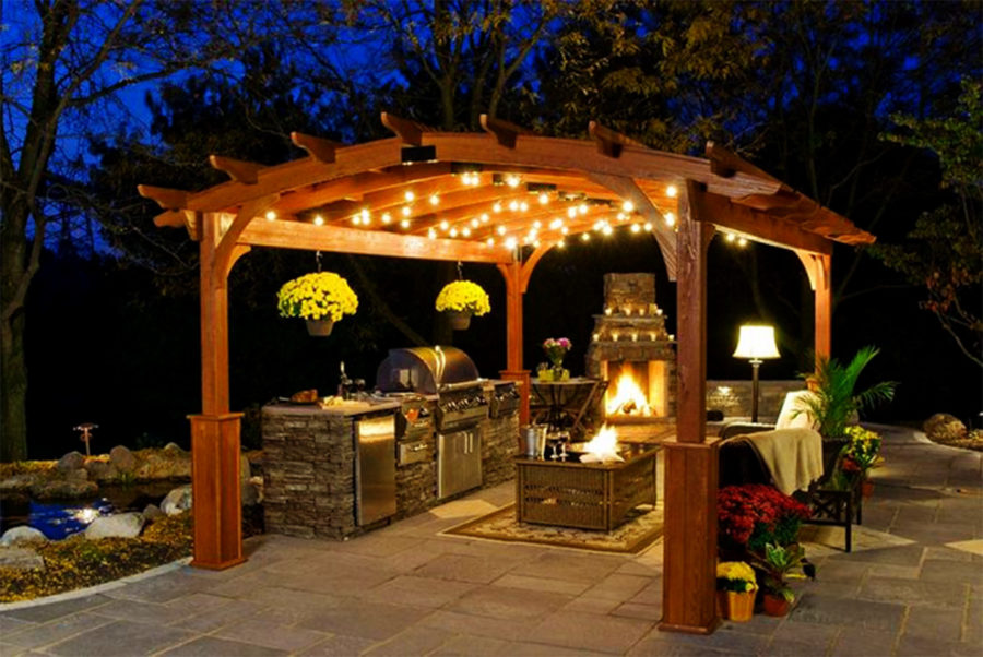 Light the Way 900x602 Gazebo Ideas Your Home Needs