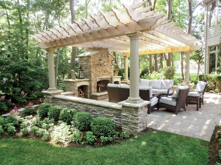 Outdoor Dining And Seating Area