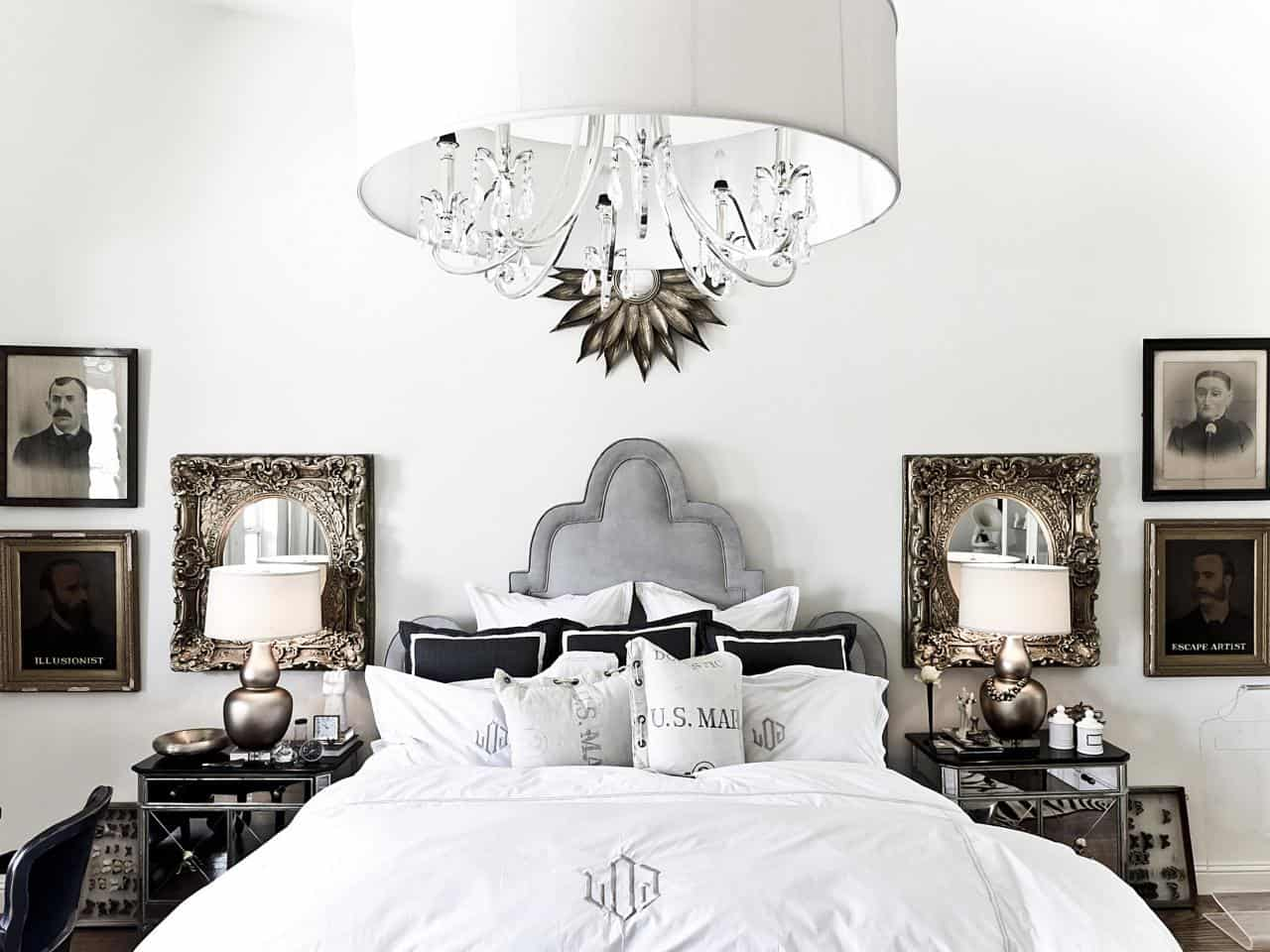 Victorian Modern Bedroom Chandelier