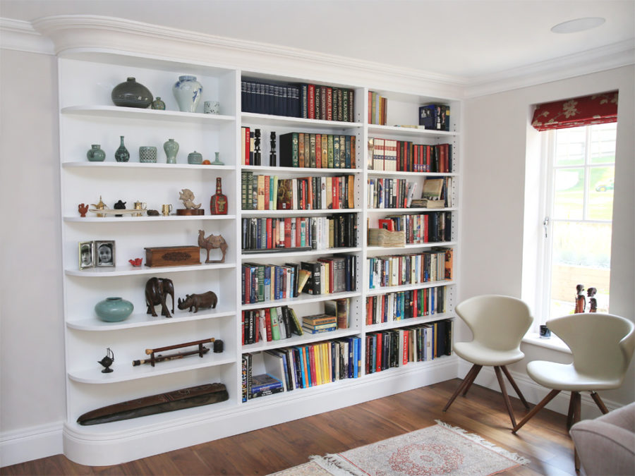 View In Gallery Built Shelves