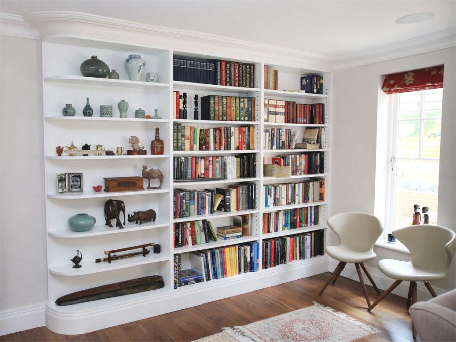 view in gallery built in shelves - Built In Bookshelves