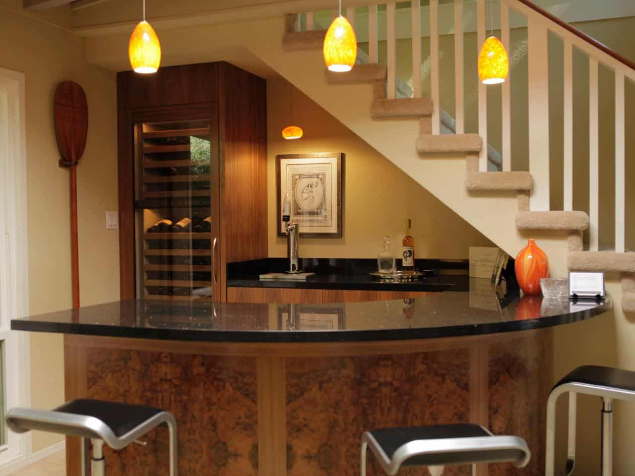 basment corner bar Home Bar Ideas for a Modern Entertainment Space