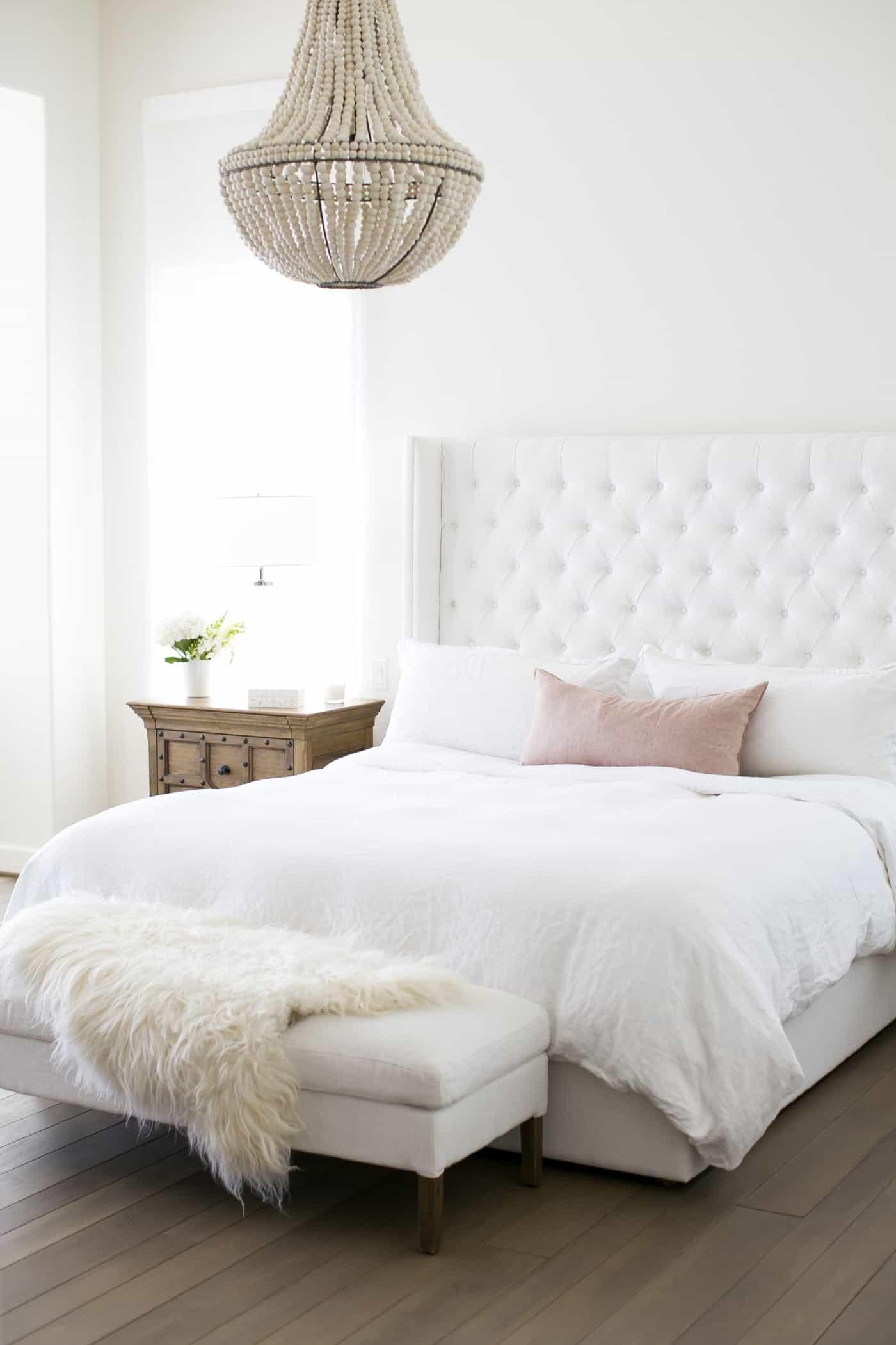 beaded bedroom chandelier