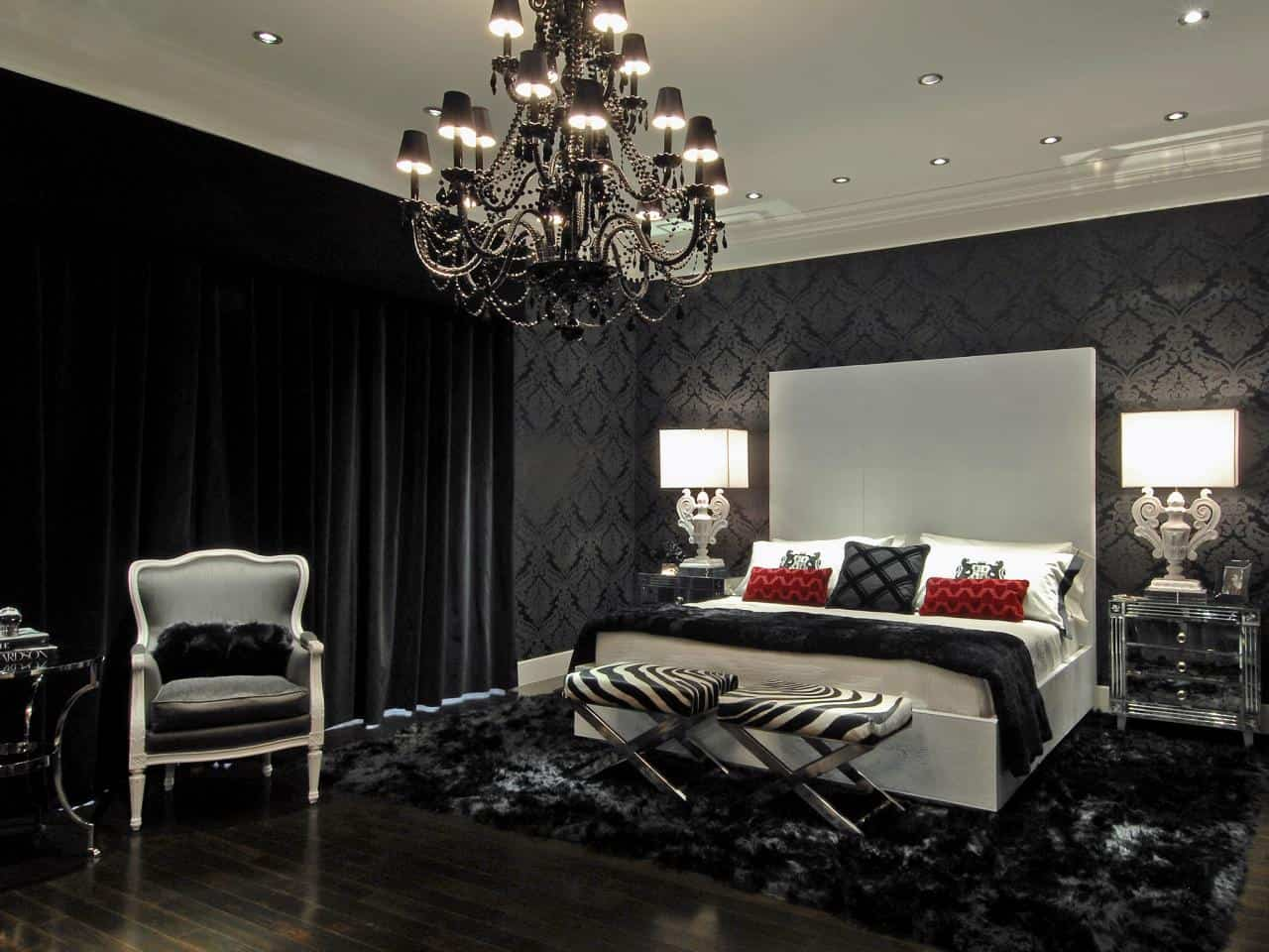 room black bedrooms dreams geometric designs decor sweet to inspire bedroom dark