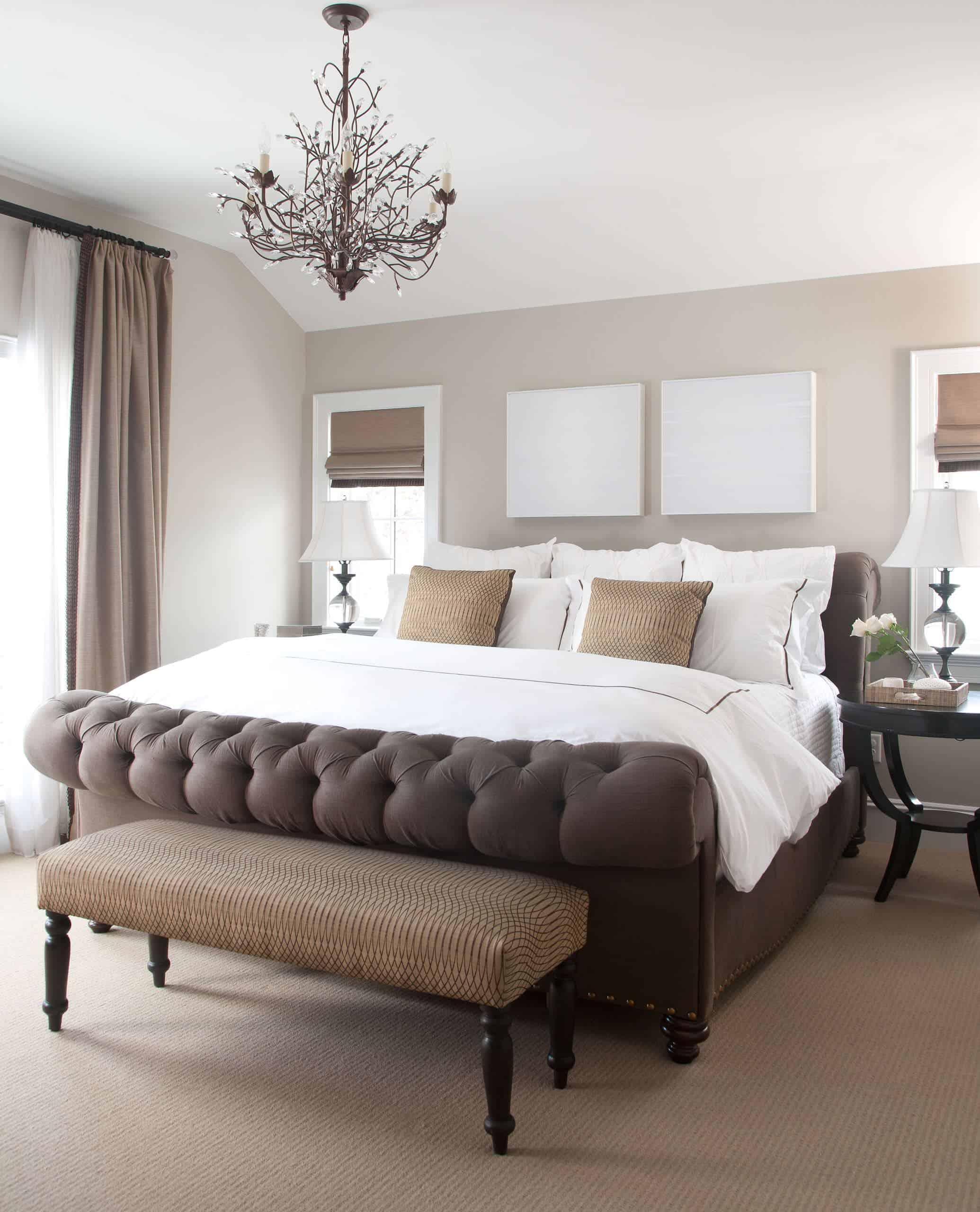 branch contemporary bedroom chandelier