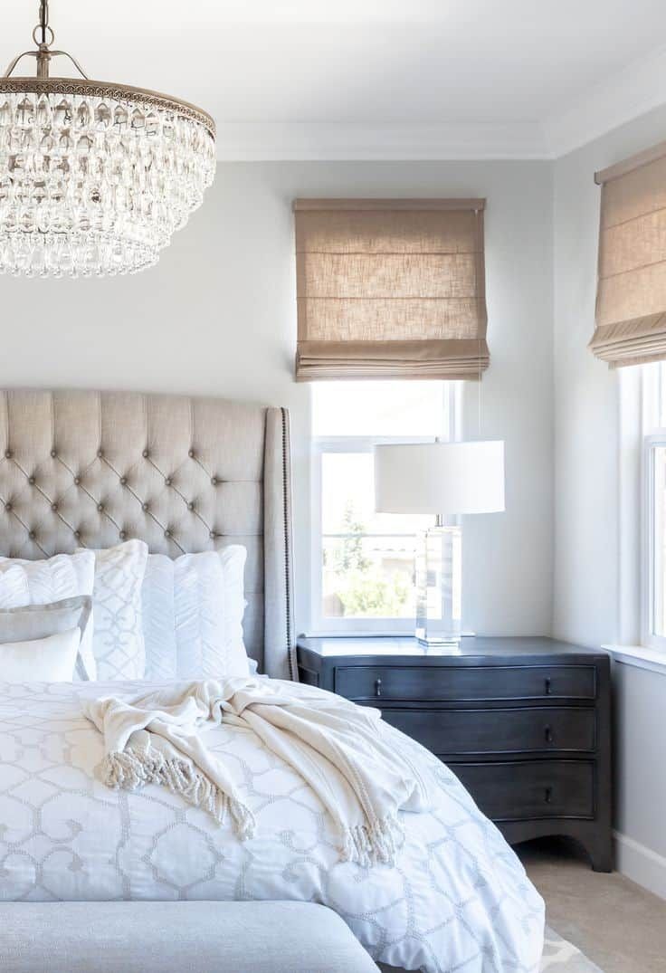crystal bedroom chandelier design 15 Bedroom Chandeliers That Bring Bouts of Romance & Style