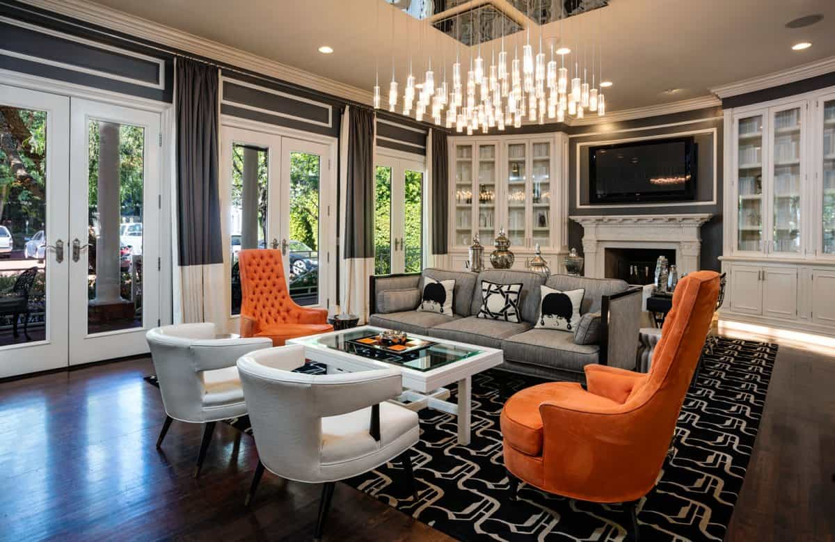 focal point living room