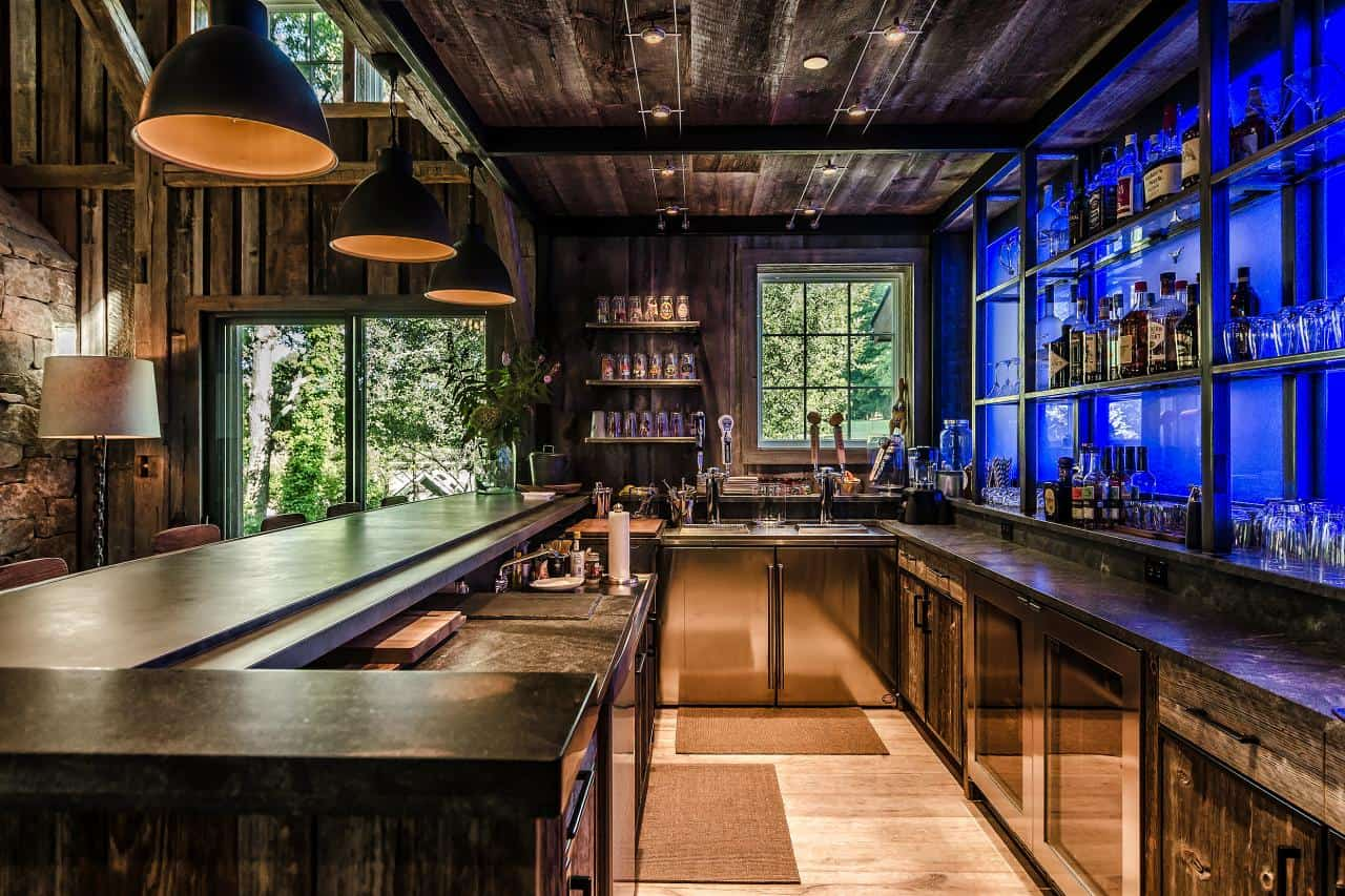 Great Home Bar Ideas For A Modern Entertainment Space
