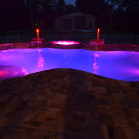 led pool 285x285 Swimming Pool Trends for the Ultimate Staycation Right at Home