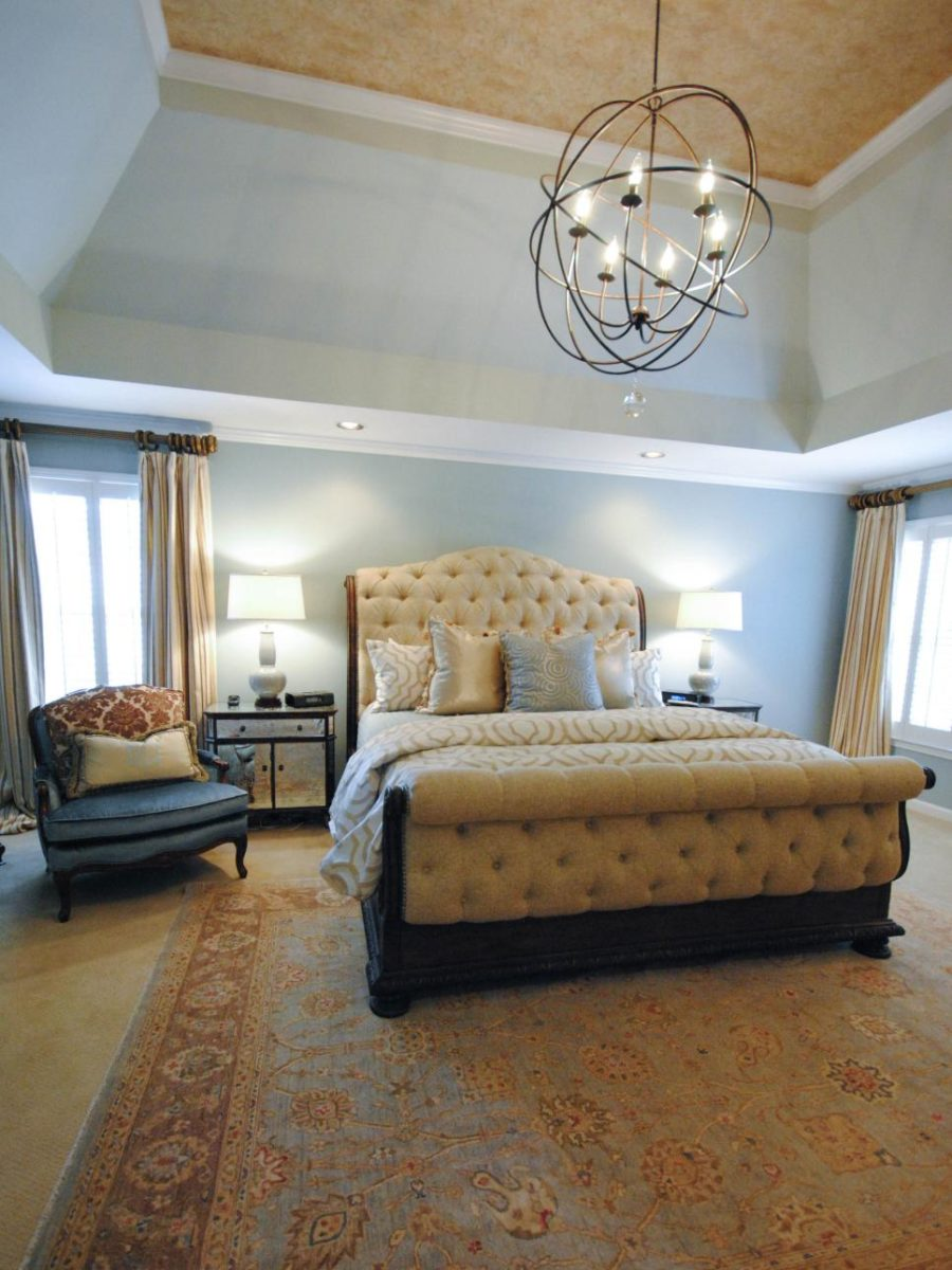 modern bedroom chandelier  900x1200 15 Bedroom Chandeliers That Bring Bouts of Romance & Style