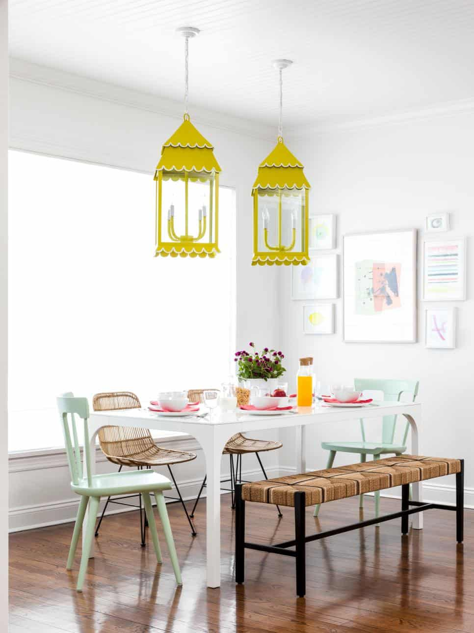 pops of yellow 2 Beach Chic Ideas to Try at Home