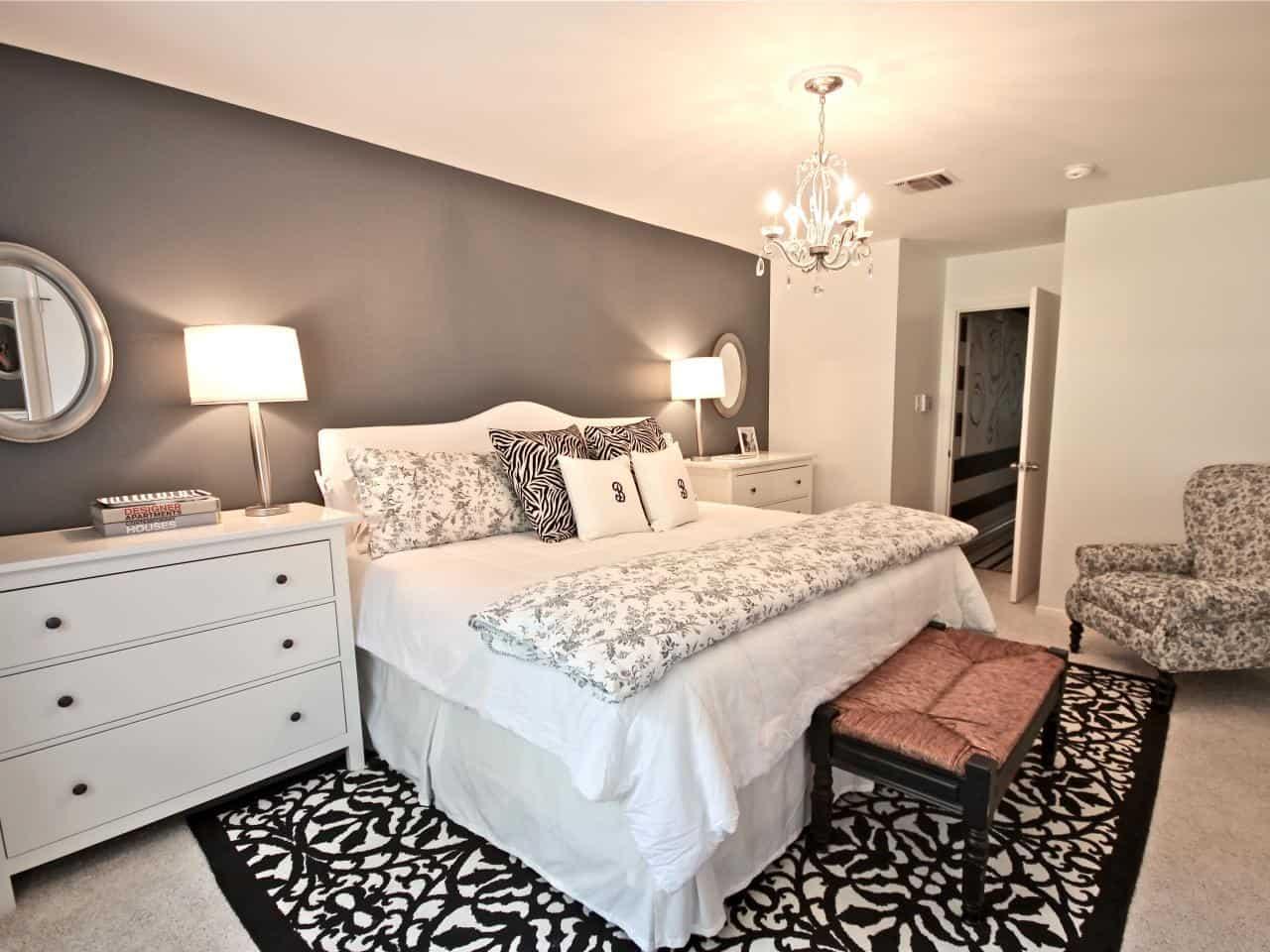 Photos Hgtv intended for Master Bedroom Chandelier