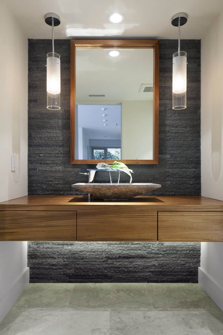 Asian bathroom vanity cabinets - View In Gallery