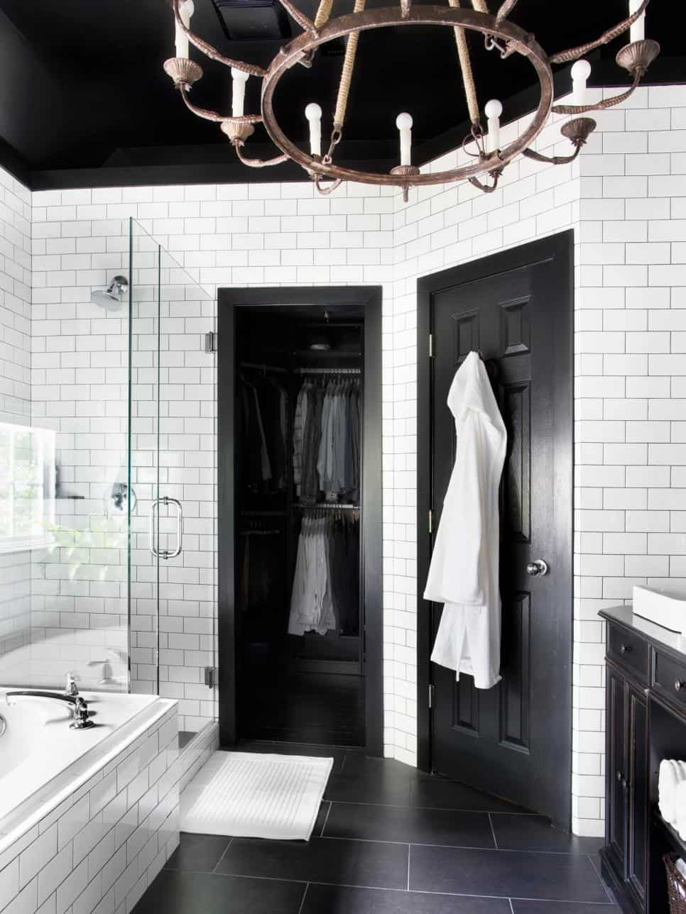 Paint Colors For A Black And White Bathroom bathroom paint colors that always look fresh and clean