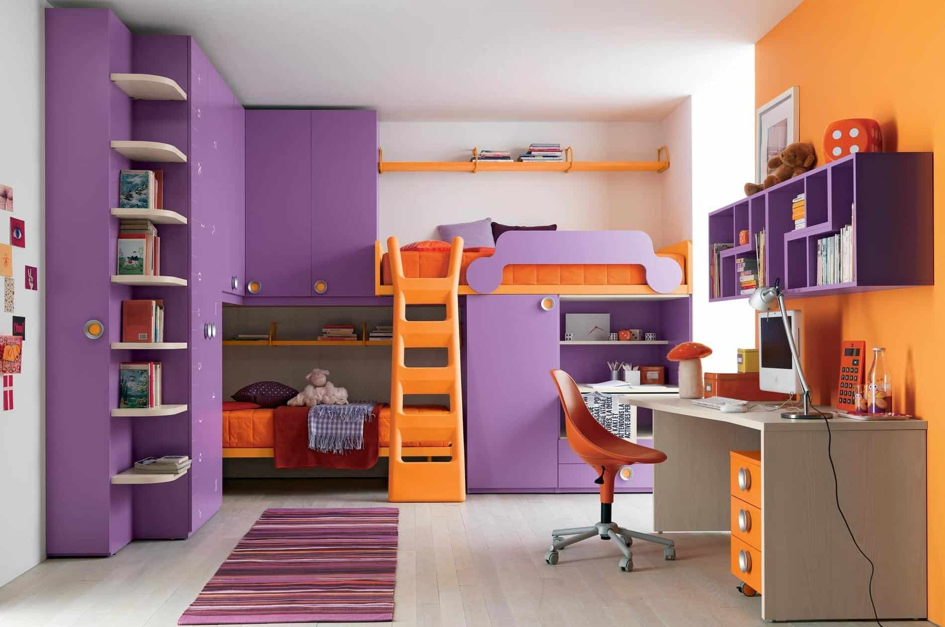study room furniture ideas. View In Gallery Bright Colored Study Space Back To School Homework And Ideas You Will Love Room Furniture A