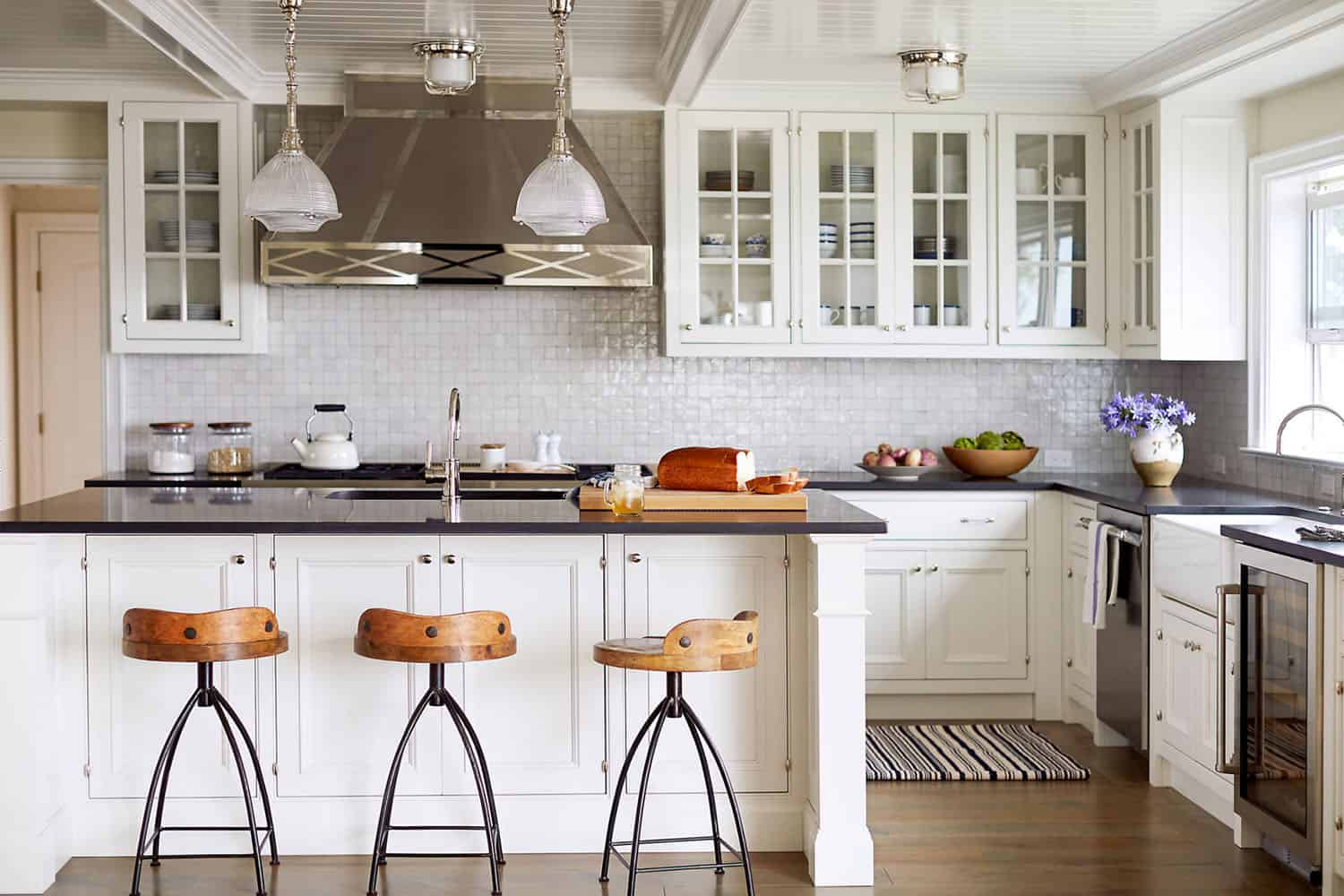bright kitchen Free up Your Counter Space with These Kitchen Organizing Ideas