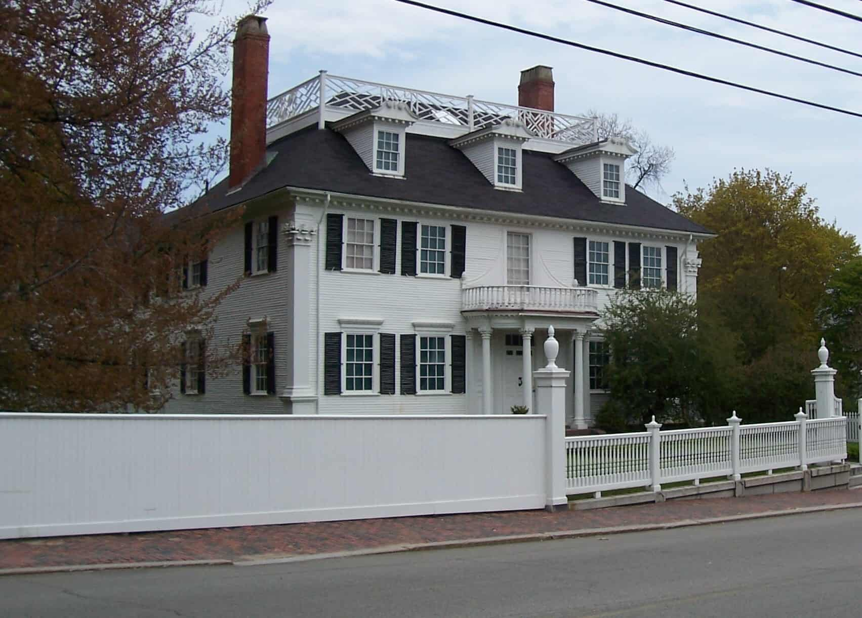 classic colonial style home