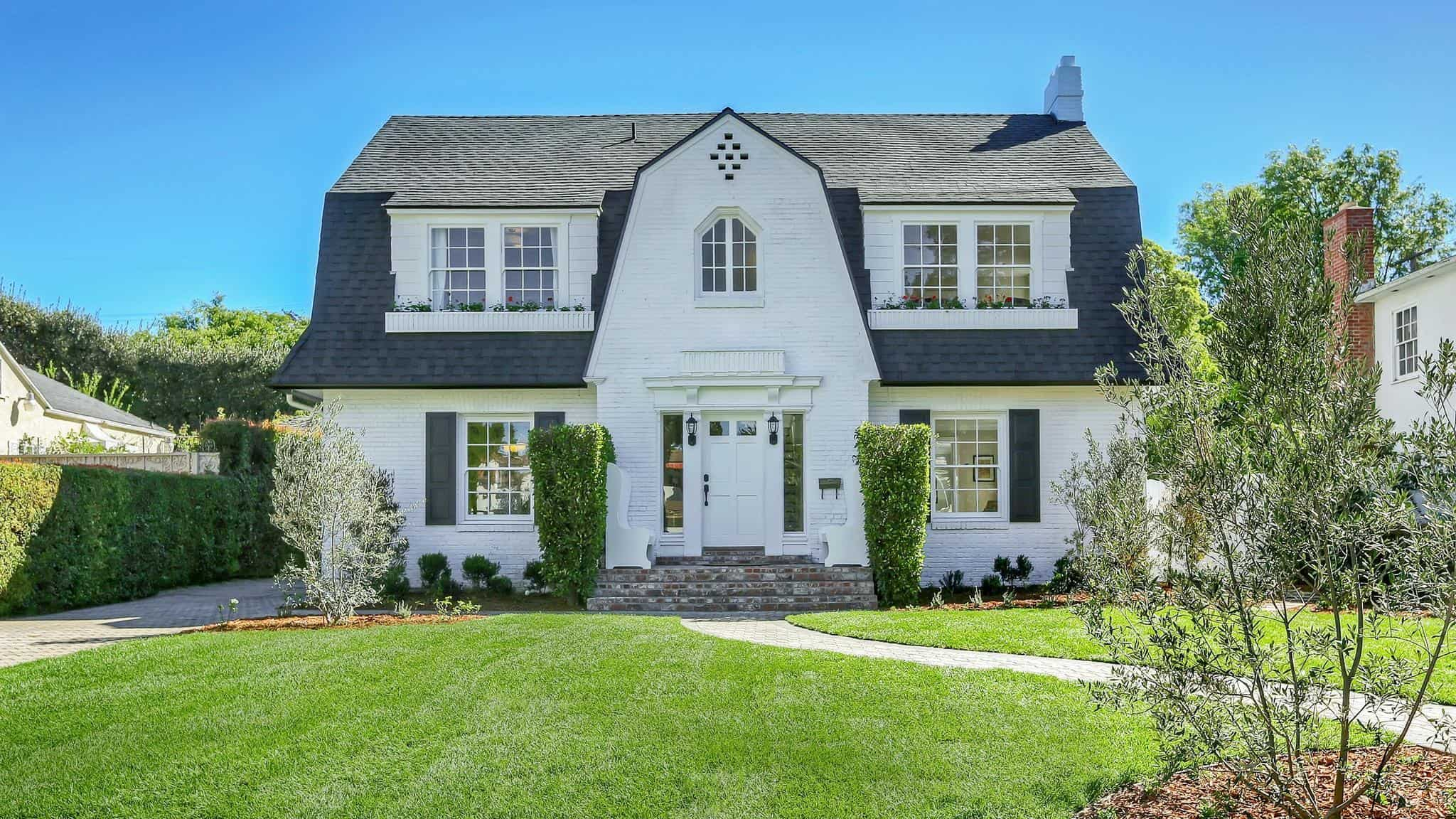 dutch colonial style home