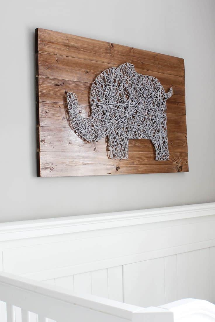 The great aspect about decorating with elephant decor is that it goes well with any theme.