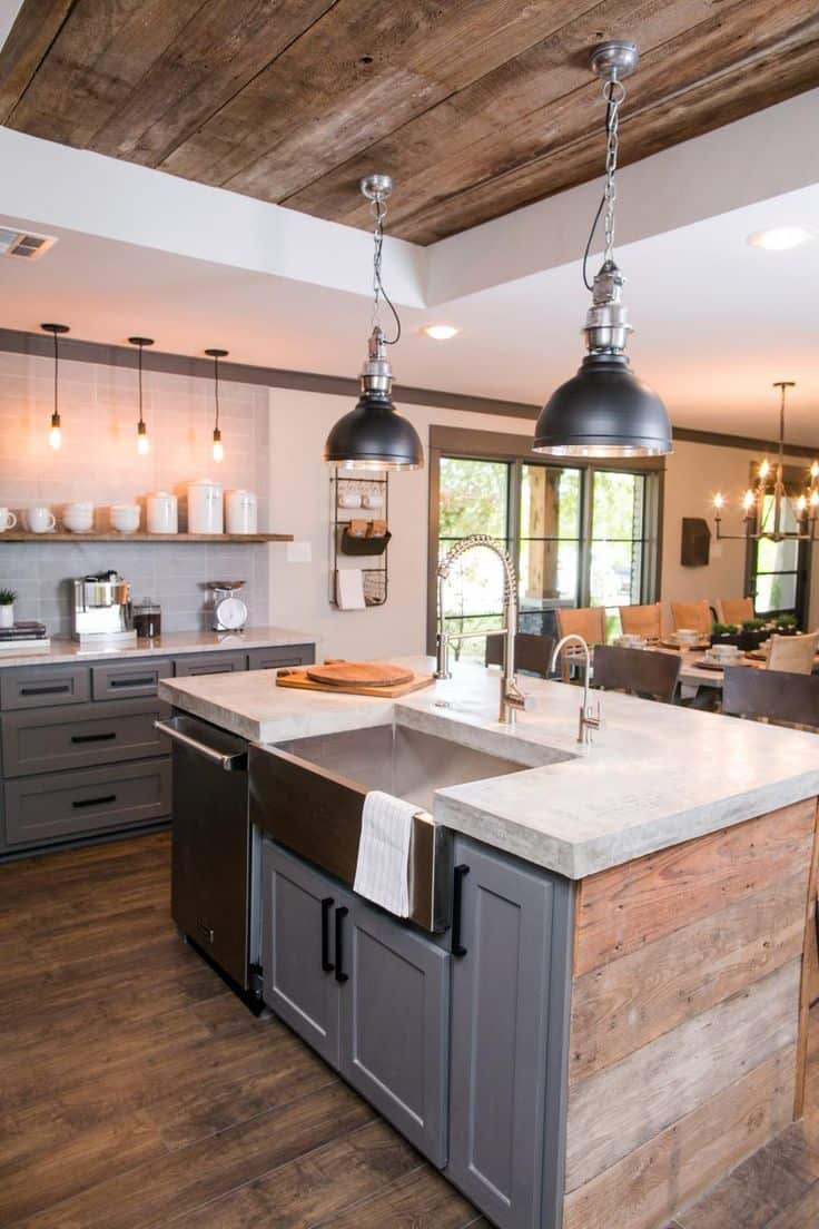 Romantic Kitchen Lighting