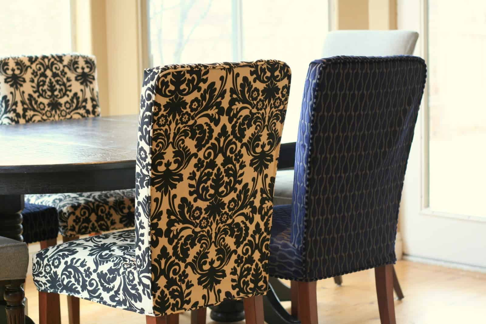 Floral chair covers are great as you are able to change them as often as you would like.